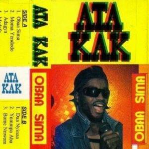 Ata Kak - Obaa Sima lp (Awesome Tapes From Africa)
