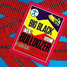 "Big Black - Bulldozer 12"" ep (Touch & Go)"