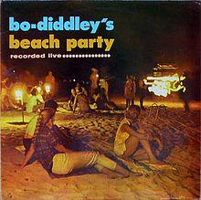 Bo Diddley - Beach Party lp (Sundazed)