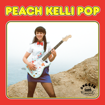 Peach Kelli Pop - 2nd s/t lp (Burger Records)