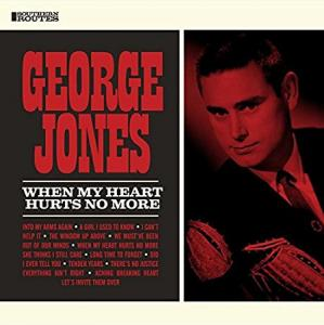 George Jones - When My Heart Hurts No More lp (Southern Routes)