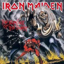 Iron Maiden - The Number of the Beast lp (BMG)