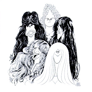 Aerosmith - Draw The Line lp (Columbia)