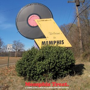 Memphis Treat - A Compilation Of Memphis Midtown Sounds lp