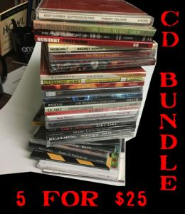 GONER CD BUNDLE! 5 for $25! Postage Paid in the US!