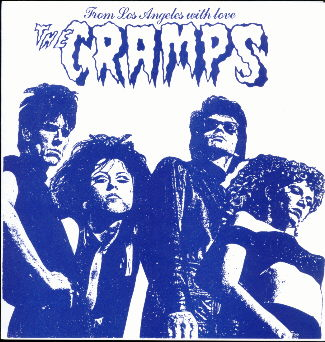 Cramps - From Los Angeles With Love 7""