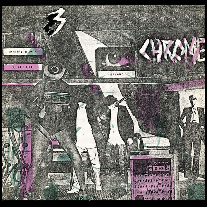 Chrome - Read Only Memory lp (Cleopatra Records)