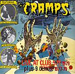 Cramps - Live At Club 57 1979 cd (Moonlight)