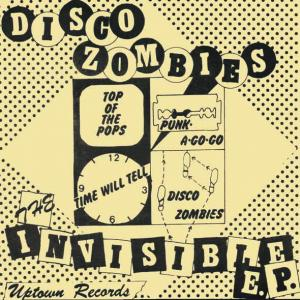 "Disco Zombies - Invisible ep 7"" (Paramecium, Spain)"