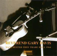 Reverend Gary Davis - Manchester Free Trade Hall 1964 cd