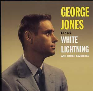 George Jones - Sings White Lighting & Other Favorites lp (Doxy)