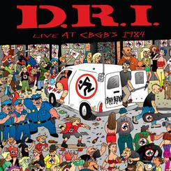 DRI - Live At CBGBs 1984 lp (Beer City) RSD 2015