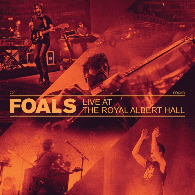 Foals - Live At The Royal Albert Hall lp (Warner Bros)