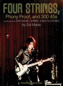 Four Strings, Phony Proof, and 300 45's - Sal Maida book (Hozac)