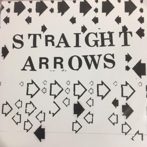 "Straight Arrows - Out & Down / Franchise 7"" (Space Taker Sounds)"