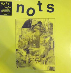 "Nots - We Are Nots lp + 7"" (Heavenly, UK)"