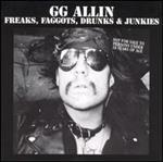 GG Allin - Freaks,Faggots,Drunks & Junkies cd (Aware-One)