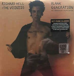 Richard Hell & the Voidoids - Blank Generation RSD dbl lp