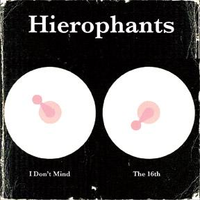 "Hierophants - I Don't Mind / The 16th 7"" (Goner) BLACK VINYL"