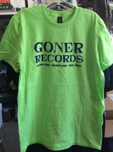 Goner T-Shirt - Green (Size M) Free US Shipping!