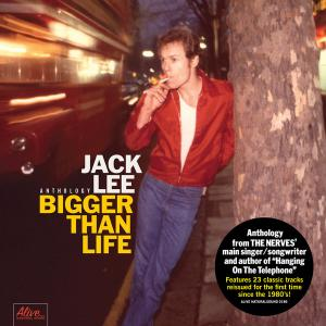 Jack Lee - Bigger than Life lp (Bomp)