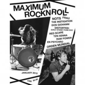 Maximum Rock N Roll - January 2015