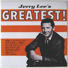 Lewis,Jerry Lee - Jerry Lee's GREATEST! lp (Rumble)