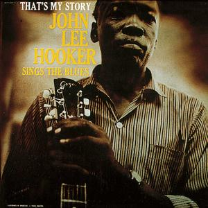 John Lee Hooker - That's My Story lp (Riverside)