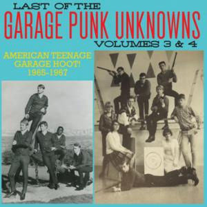 Last of the Garage Punk Unknowns - 3+4 lp (Crypt)
