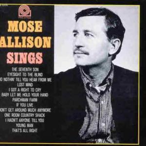 Mose Allison - Sings (Prestige)
