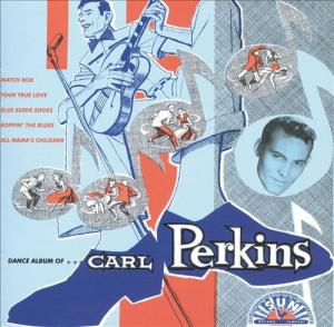 Dance Album of Carl Perkins lp (ORG)