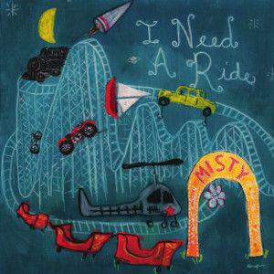 Misty White - I Need A Ride lp (Bang, France)