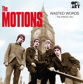 Motions- Wasted Words- The Havoc 45s lp (Pseudonym)