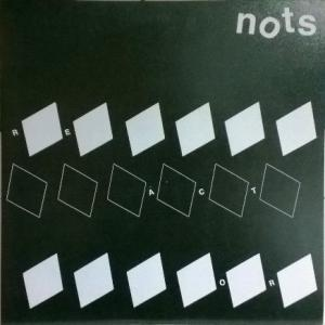 "Nots - Reactor / Televangelist (demo) 7"" (Heavenly, UK)"