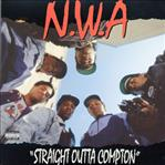 NWA - Straight Outta Compton lp (Ruthless/Priority)