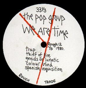 Pop Group - We Are Time lp (Freaks R Us)