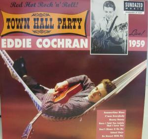 Eddie Cochran - Town Hall Party lp (Sundazed)