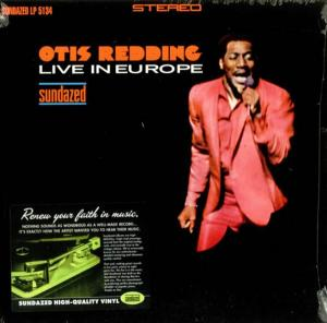 Otis Redding - Live in Europe lp (Sundazed)