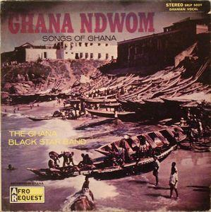 Ghana Black Star Band - Songs of Ghana lp