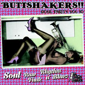 Buttshakers!! Soul Party Vol 10 lp (Mr Luckee)