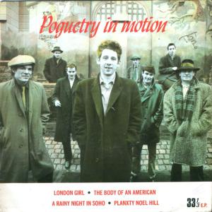 Pogues - Poguetry in Motion LP (Warner)