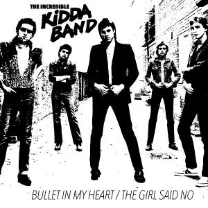 "The Incredible Kidda Band - Bulet in my Heart 7"" (Laust Laugh)"