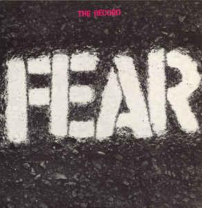 Fear - The Record lp (Rhino)