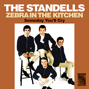"Standells - Zebra In The Kitchen 7"" (Sundazed)"