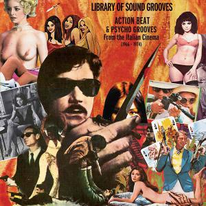 Library of Sound Grooves - Action Beat and Psycho Grooves lp