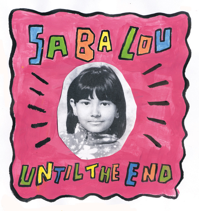 "Saba Lou - Until The End / Good Habits & Bad 7"" (Wacky Wacko)"