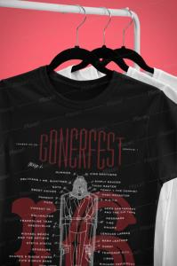 GONERFEST 16 T-Shirt - BLACK - WOMEN'S MEDIUM - FREE US SHIPPING