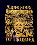 True Sons Of Thunder - Black Astrologers T-shirt size 2X