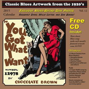 Blues Images Calendar 2015 with Free 1920s Blues CD