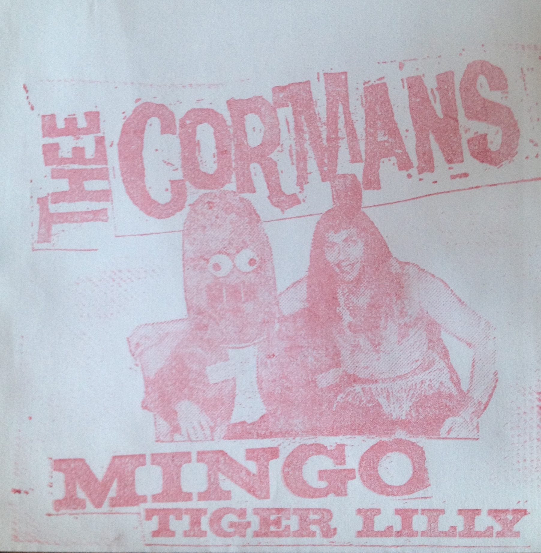 "Thee Cormans - Mingo 7"" (Total Punk)"